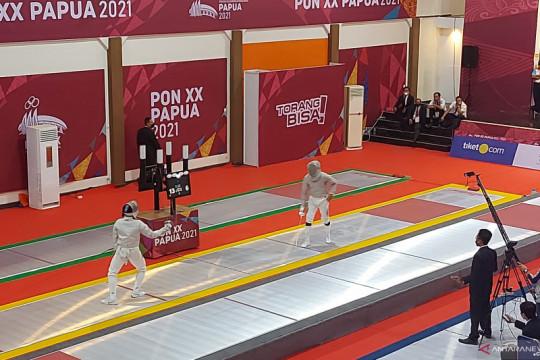 Sumsel loloskan dua atlet anggar ke final Sabel Individual Putra