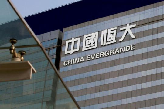 Hong Kong suspen saham China Evergrande dan unit jasa propertinya