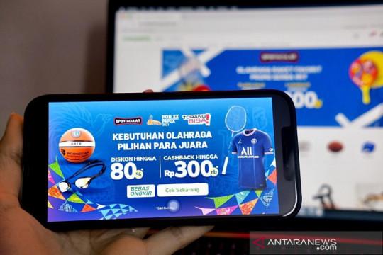 PB PON Papua apresiasi Tokopedia sebagai mitra e-commerce