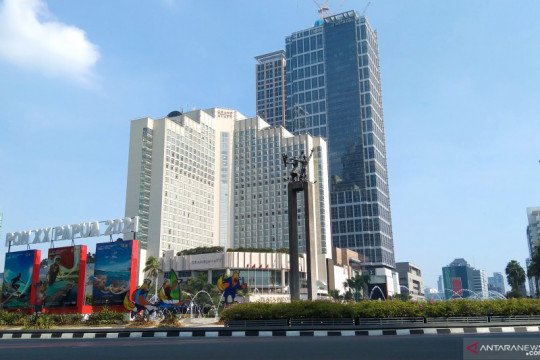 Senin, cuaca Jakarta diperkirakan mayoritas cerah berawan