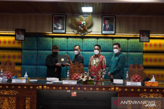 Wagub minta dukungan Baleg DPR percepat pembahasan RUU Provinsi Bali