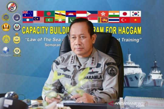 Bakamla RI pimpin latihan penegakan hukum laut bersama 19 negara