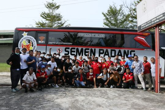 Semen Padang FC resmi daftarkan 27 pemain hadapi Liga 2
