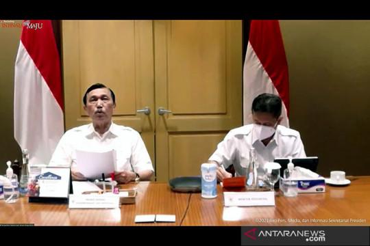 PPKM Jawa-Bali lanjut hingga 18 Oktober, wilayah level 3 bertambah
