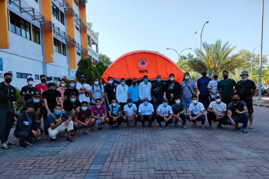 Pemain PSMS jalani tes usap PCR jelang Liga 2 Indonesia