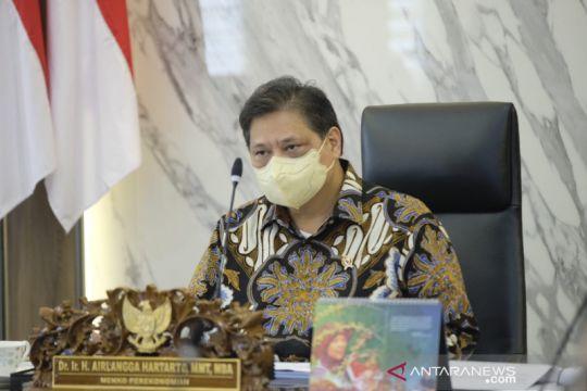 Menko Airlangga: Pemerintah siapkan peta jalan menuju era normal baru