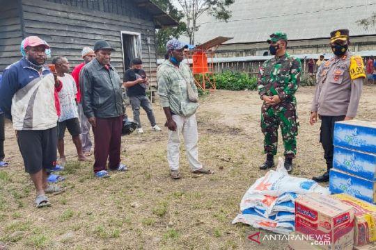 Cegah meluasnya konflik di Dekai, TNI-Polri temui tokoh masyarakat