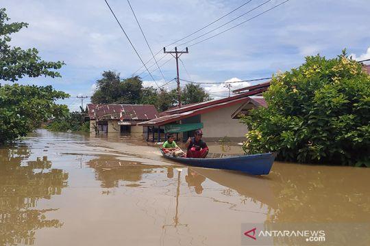 BPBD Kapuas Hulu sebut 10.596 rumah warga terendam banjir