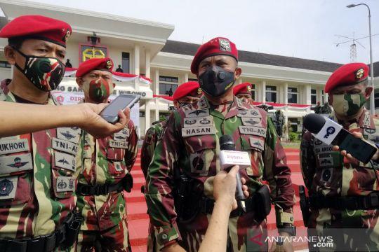 Danjen Kopassus harapkan TNI tetap jadi instansi terbaik