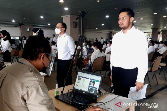 BKN dampingi disabilitas ikuti tes CPNS di Kantor Wali Kota Jaksel