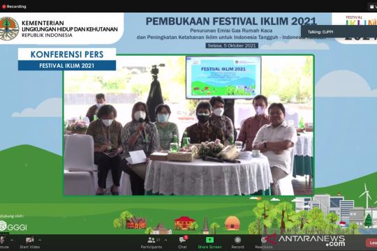 KLHK siapkan kegiatan paralel paviliun Glasgow dan Jakarta pada COP26