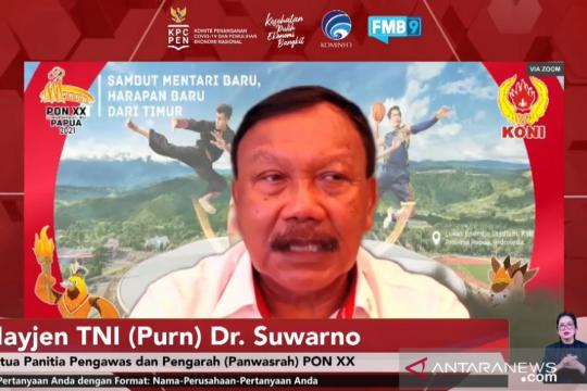 Cegah penyebaran COVID-19 PON Papua terapkan sistem bubble ketat