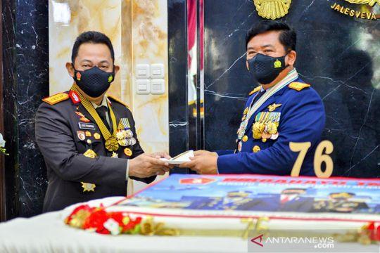 Kapolri: Sinergitas TNI-Polri kekuatan strategi hadapi tantangan