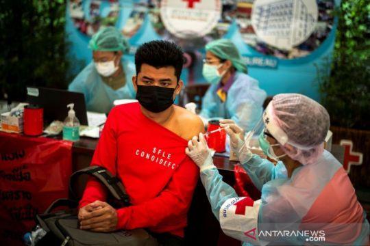 Palang Merah Thailand mulai vaksinasi pekerja migran