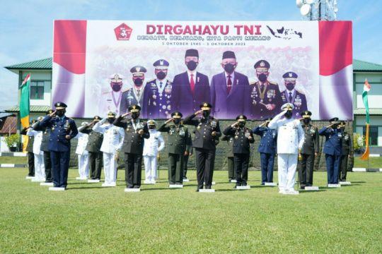 Pangdam XIII/Merdeka: Peringatan HUT TNI momentum wahana evaluasi