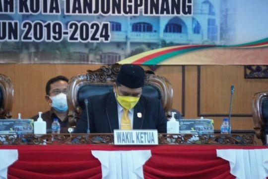 DPRD Tanjungpinang menolak rancangan KUA-PPAS APBD Perubahan 2021