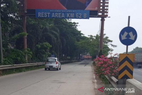 Jasa Marga perbaiki area rehat Tol Jakarta-Cikampek Km 62
