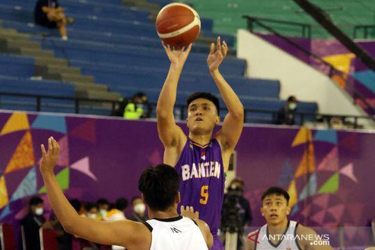 Tim basket putra Banten menangkan laga terakhir, tundukkan Kalsel