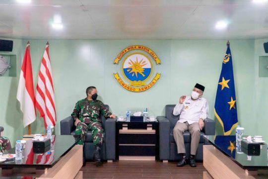 Gubernur berharap Lantamal segera dibangun di Aceh
