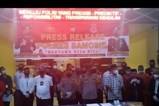 Polres Samosir Sumut mengungkap kasus judi dan prostitusi