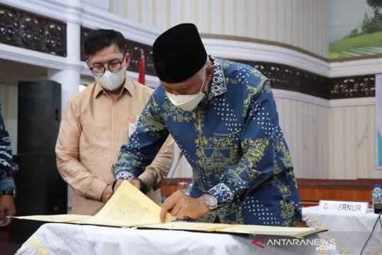 Sumbar-BSI jalin kerja sama kembangkan ekonomi syariah