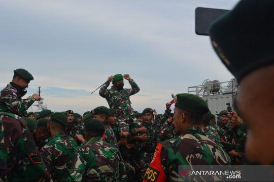 Danrem 092: Tugas pengamanan perbatasan kehormatan dan kebanggaan TNI