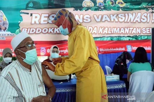 Vaksinasi lansia ikut menjadi indikator penetapan level PPKM Jawa-Bali