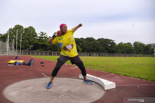 Atlet NPC Sumut berlatih jelang Peparnas