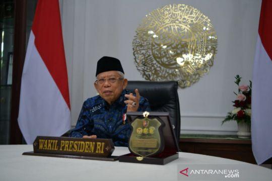 Wapres minta TNI-Polri meningkatkan vaksinasi COVID-19 di daerah
