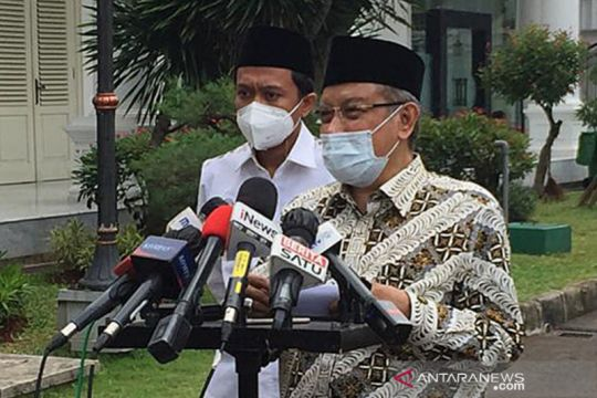 Ketua PB NU Said Aqil bertemu Presiden Jokowi soal rencana muktamar NU