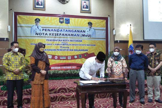 Pemkot Mataram gandeng rumah bersalin terkait pencatatan kelahiran