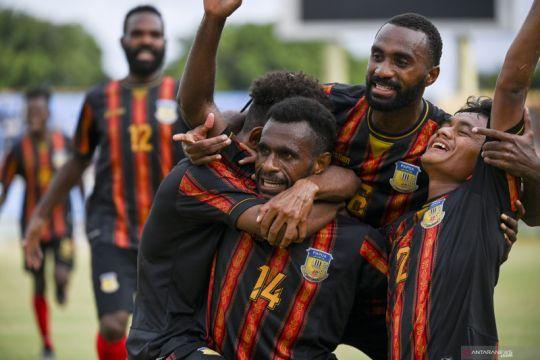 Sepak bola putra tuan rumah awali enam besar PON Papua kalahkan Aceh