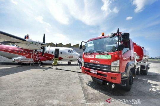 Kemarin, uji terbang pakai bioavtur hingga BI buka layanan rupiah
