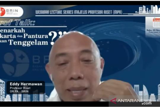 Peneliti BRIN prediksi beberapa lokasi di Jakarta terendam pada 2050