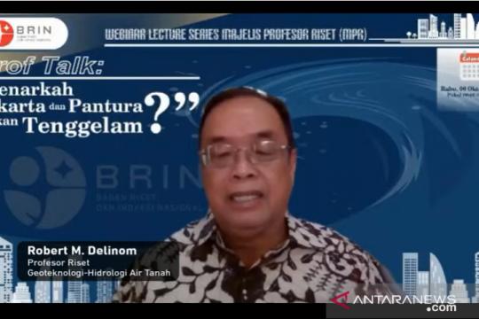 BRIN: Hindari pembangunan masif utara Jakarta cegah potensi tenggelam