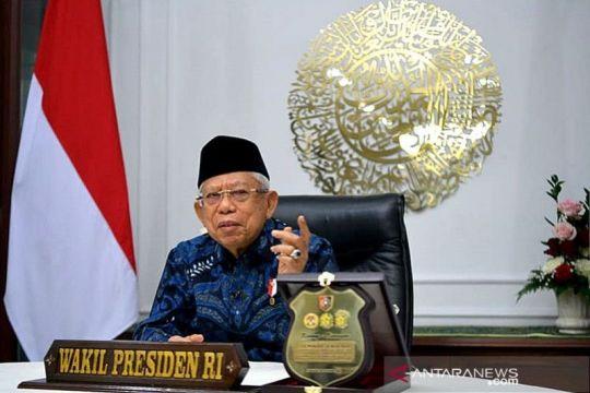 Ma'ruf Amin: Posisi Indonesia strategis pada peta perdagangan dunia