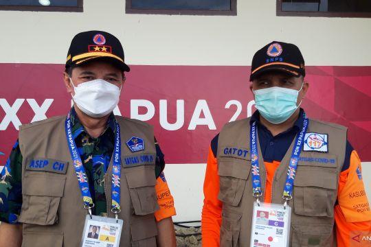 BNPB terus gencarkan sosialisasi protokol kesehatan di arena PON Papua