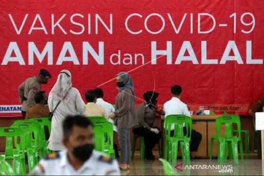 Satgas: 22 daerah di Aceh sudah risiko rendah penularan COVID-19