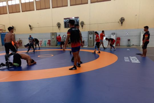 Gulat PON Papua diharapkan lahirkan wakil Indonesia di SEA Games Hanoi