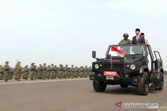 Anggota Komcad TNI AD wartawan, mahasiswa hingga dosen
