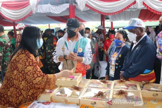 Pangdam XVII/Cenderawasih resmikan pusat kuliner Sentani Jayapura