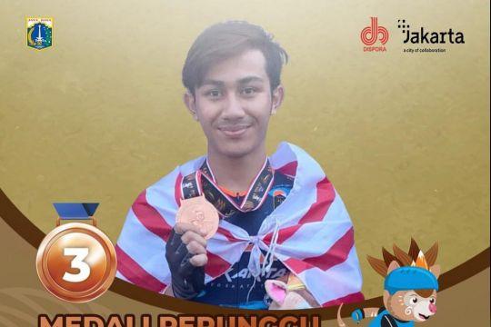 Barijani Mahesa, mahasiswa UI peraih 5 medali sepatu roda PON Papua