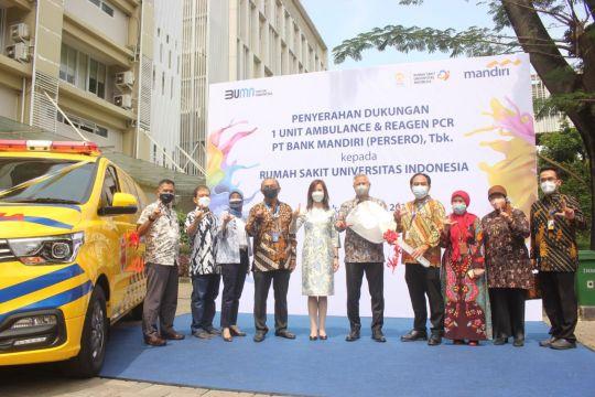 RSUI terima dukungan pengadaan fasilitas kesehatan dari Bank Mandiri