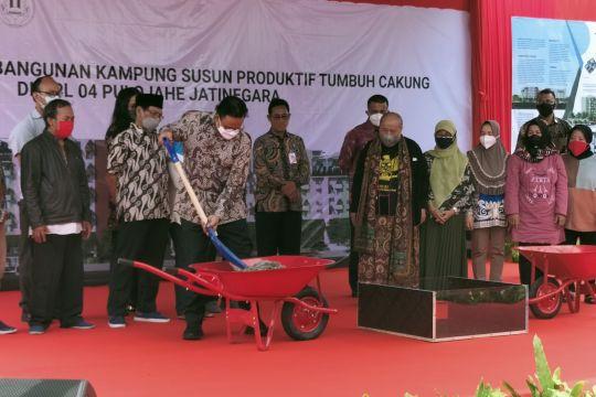 Anies resmikan pembangunan Kampung Cakung untuk warga Bukit Duri