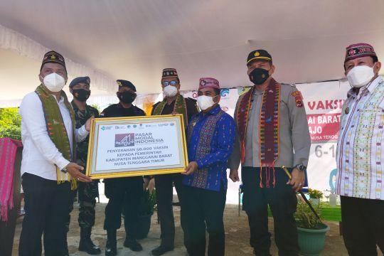 Pemkab Manggarai Barat apresiasi 50.000 vaksin Pasar Modal Indonesia