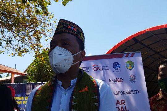 Pasar Modal Indonesia siapkan 50.000 dosis vaksin di Manggarai Barat