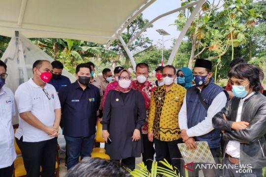 Erick Thohir resmikan Desa Wisata Situ Lebak Wangi Bogor