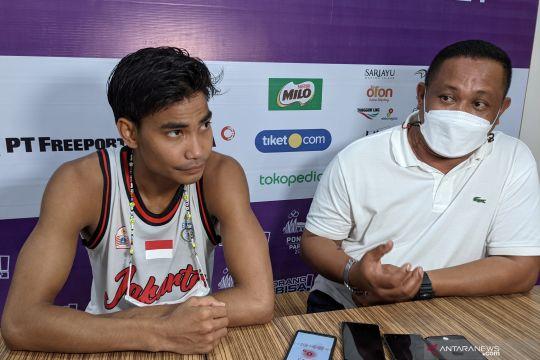 Yesaya Saudale: basket putra DKI Jakarta terbiasa hadapi tekanan