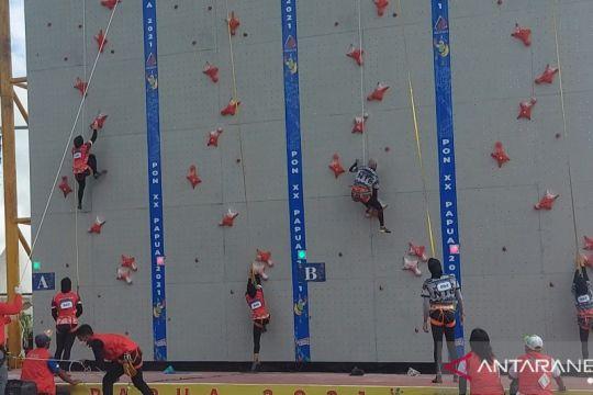Jateng borong dua medali emas sekaligus dari cabang panjat tebing