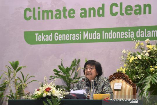 Menteri LHK: Generasi muda berperan penting dalam isu perubahan iklim